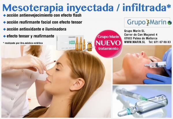 Mesoterapia inyectada / infiltrada realizado por Dra.médic estética
