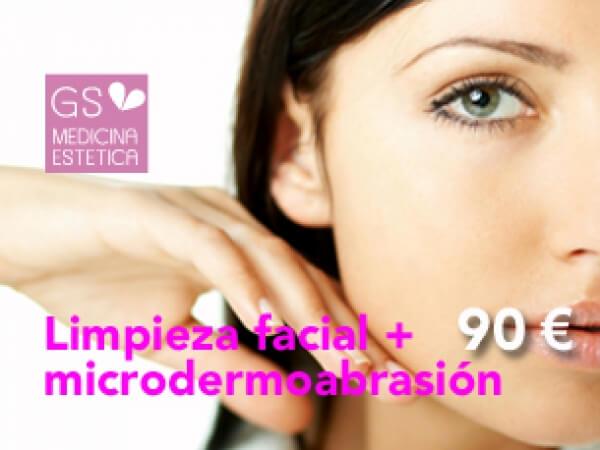 Limpieza facial más microdermoabrasión (para quitar células muertas) 90 euros en TodoEstetica.com