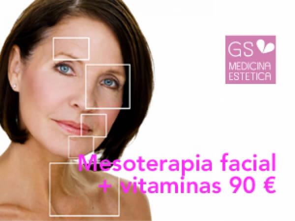 Mesoterapia facial con vitaminas desde 90 euros en TodoEstetica.com