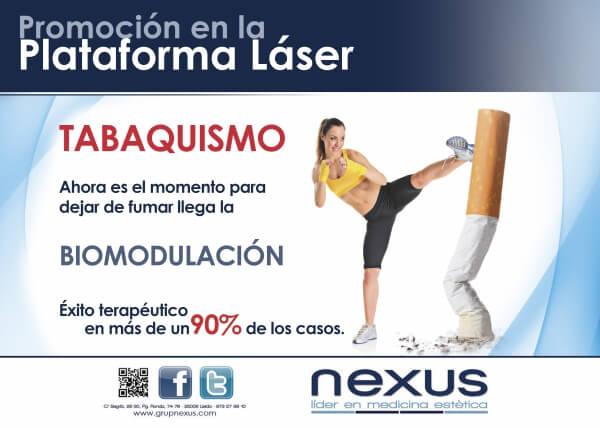 Deja de fumar gracias a la biomodulación!