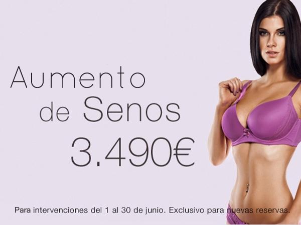 Aumento de Senos 3.490€ en TodoEstetica.com