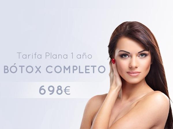 Botox Tarifa Plana 1 Año en TodoEstetica.com
