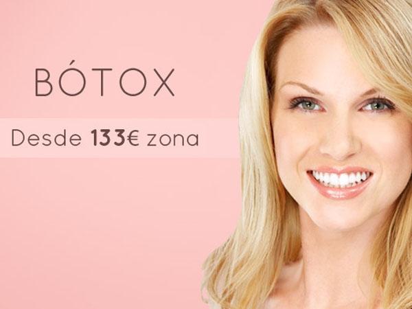 Sesión Bótox 133€ en TodoEstetica.com