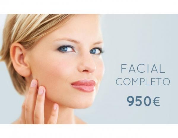 Facial Completo: 950€