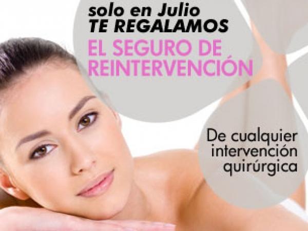 solo en Julio...¡te regalamos seguro de reintervención! en TodoEstetica.com