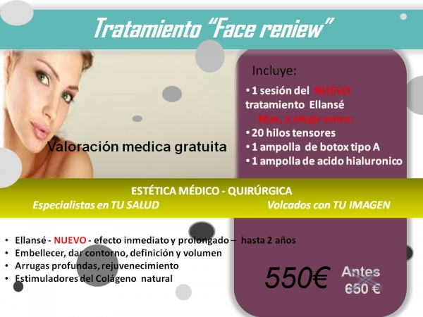 Tratamiento rejuvenecimientp en TodoEstetica.com