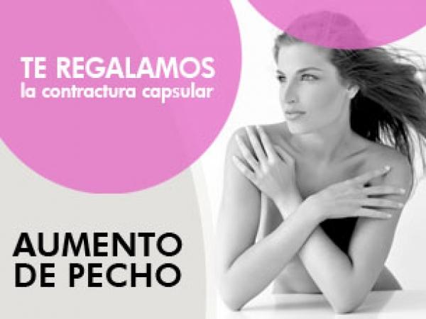 AUMENTO DE PECHO CON REGALO DE CONTRACTURA CAPSULAR DURANTE OCTUBRE en TodoEstetica.com