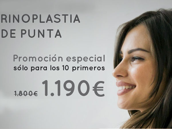 Rinoplastia de Punta 1.190 en TodoEstetica.com