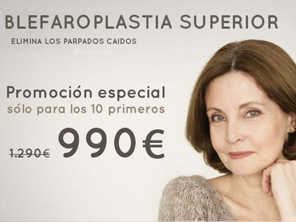 Blefaroplastia Superior 990€ en TodoEstetica.com