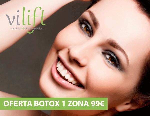 OFERTA 99 € 1 zona de Botox