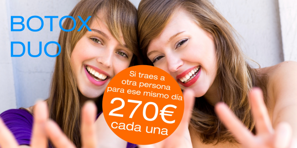 2 Tratamientos de Botox: 270€