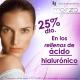 25% Dto. en rellenos de Ácido Hialurónico