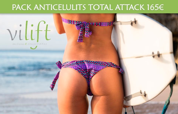 PACK ANTICELULITIS TOTAL ATTACK 165€ en TodoEstetica.com