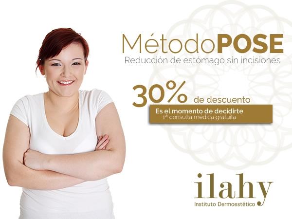 ¡Método POSE! Reducción de estómago sin cirugía. Resultados permanentes. en TodoEstetica.com