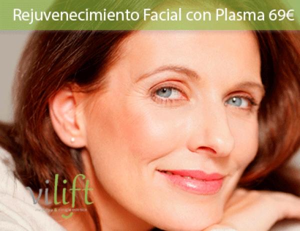 Rejuvenecimiento Facial con Plasma 69€ (antes 150€) en TodoEstetica.com