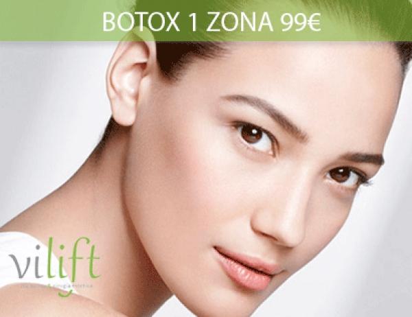 1 Zona de Botox 99€ en TodoEstetica.com
