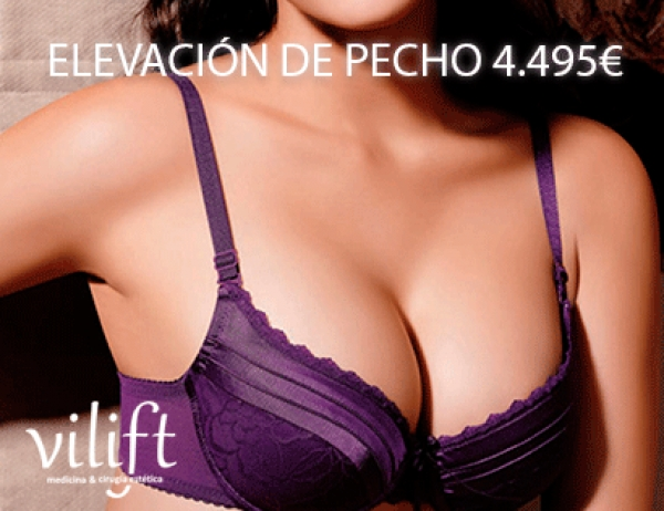 Elevación de senos 4.495€ Todo inlcuido en TodoEstetica.com