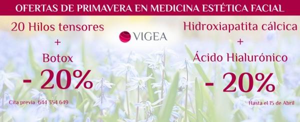 Oferta de primavera en Medicina Estética Facial