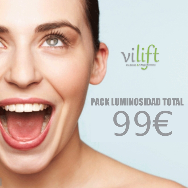 Pack Luminosidad Total  en TodoEstetica.com