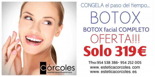 BOTOX COMPLETO AL MEJOR PRECIO!!! en TodoEstetica.com