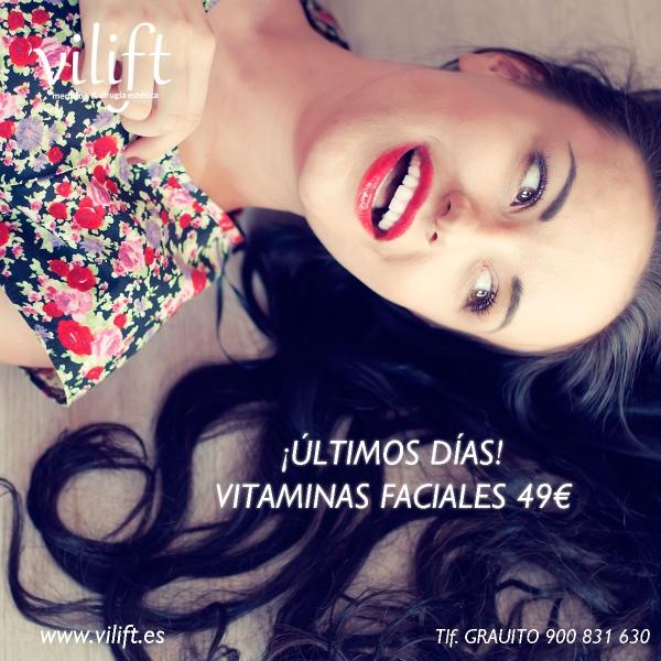 Vitaminas Faciales Inyectadas 49€ ¡Últimos días!  en TodoEstetica.com