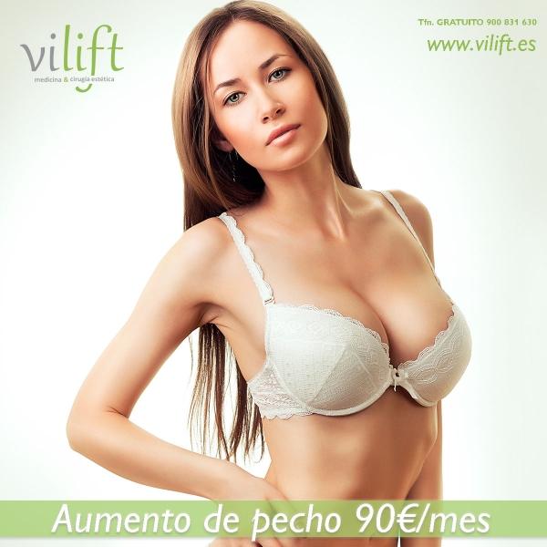 AUMENTO DE PECHO 90€/MES en TodoEstetica.com