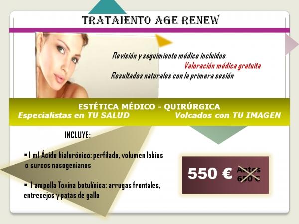 Tratamiento Age Renew en TodoEstetica.com