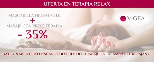 Oferta en terapia relax