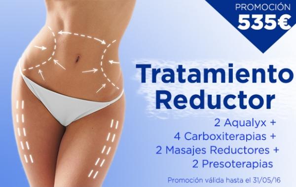 Promoción Tratamiento Reductor: 535€