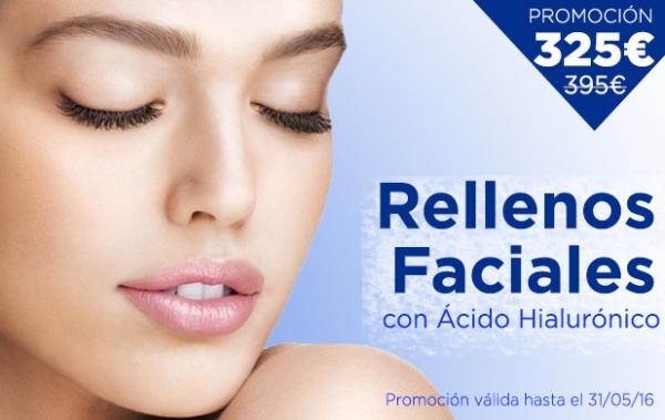 Promoción Rellenos Faciales: 325€ en TodoEstetica.com