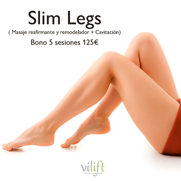 ⭐PACK SLIM LEGS⭐  Bono de 5 sesiones SOLO 125€