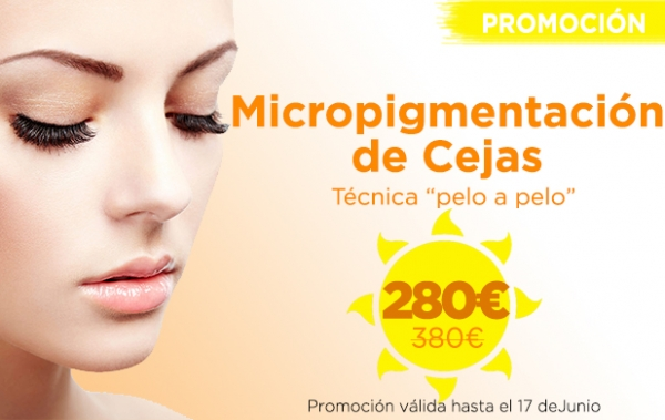 Promoción Micropigmentación de Cejas