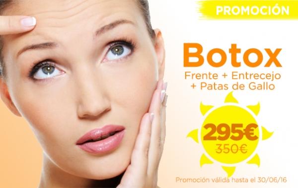 Promoción Tratamiento de Bótox para Eliminar Arrugas en TodoEstetica.com