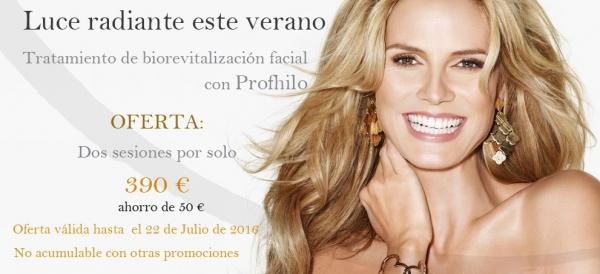 Tratamiento de biorevitalización facial