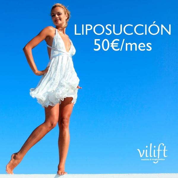 Oferta Liposucción desde 50€/mes
