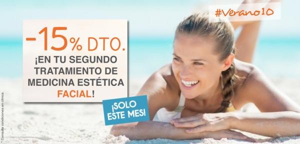 15% DTO. Tratamientos Faciales de Medicina Estética