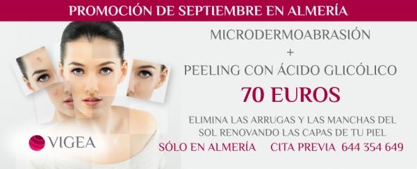 Peeling con Ácido Glicólico + Microdermoabrasión