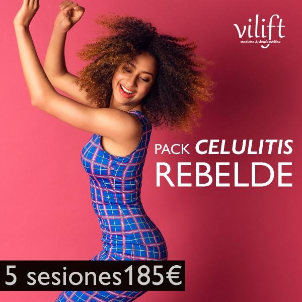 PACK CELULITIS REBELDE➡ 5 SESIONES 185€