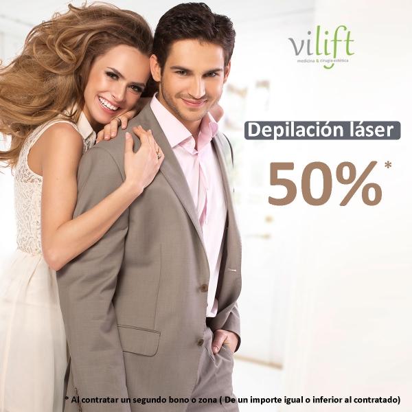 Promoción septiembre depilación láser al 50%