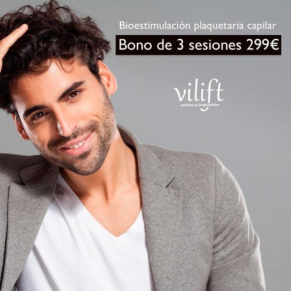 BIOESTIMULACIÓN PLAQUETARIA CAPILAR ➡ BONO 3 SESIONES 299€