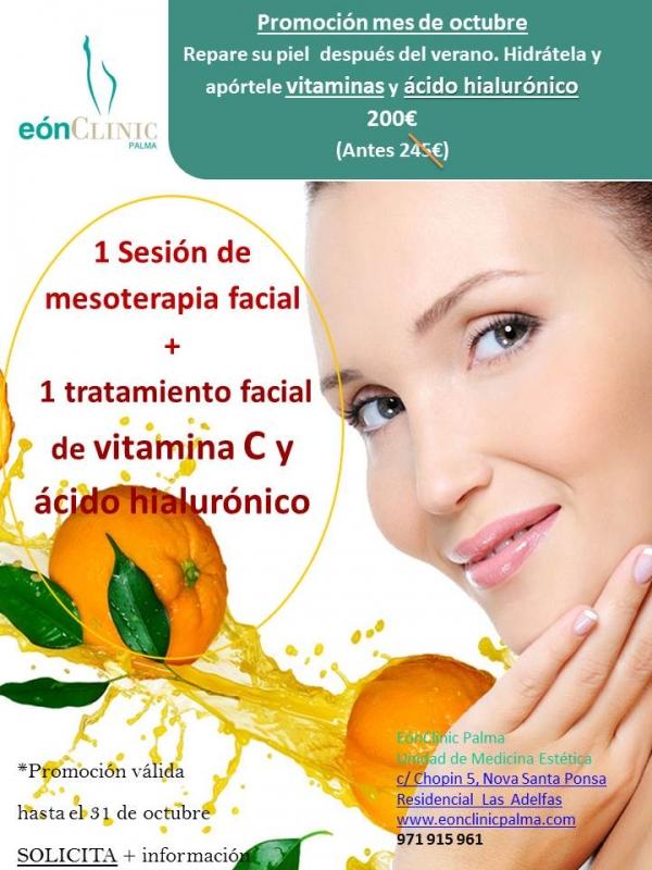Recupere su piel después del verano con vitaminas faciales