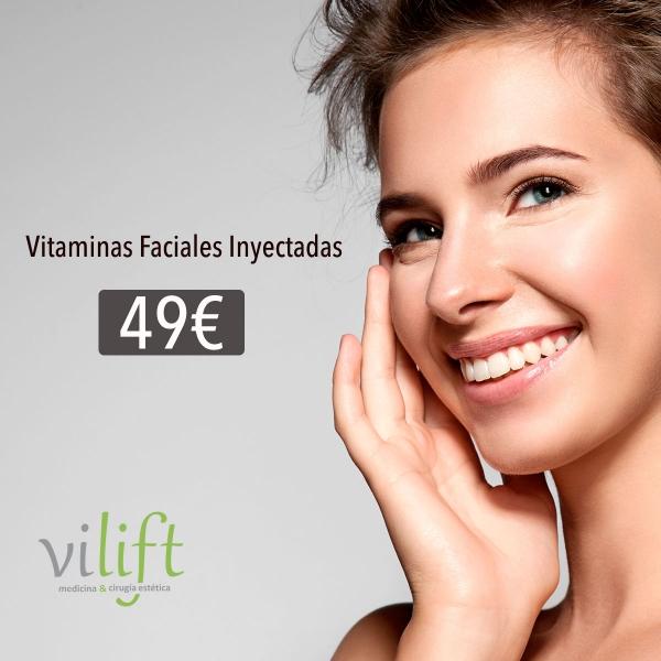 Vitaminas Faciales Inyectadas 49€  en TodoEstetica.com