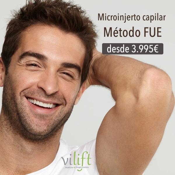 Microinjerto capilar FUE desde 3.995€