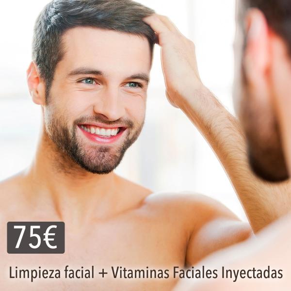 LIMPIEZA FACIAL + VITAMINAS FACIALES INYECTADAS 75€ en TodoEstetica.com