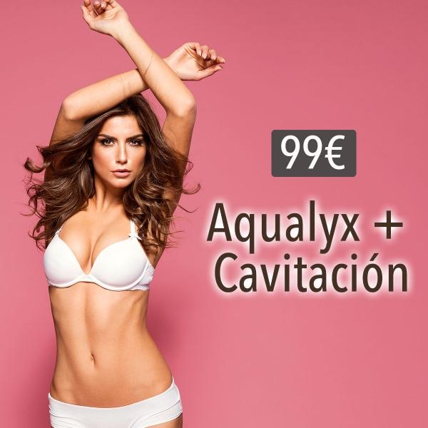Liposucción sin cirugía + Cavitación 99€/sesión