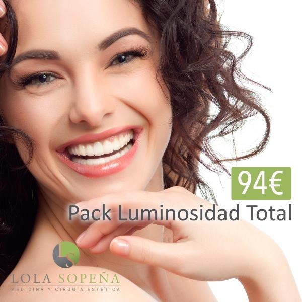 Pack Luminosidad Facial Total 94 €  en TodoEstetica.com