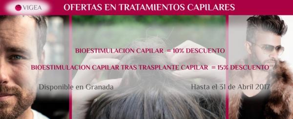 Ofertas en tratamientos capilares en Granada
