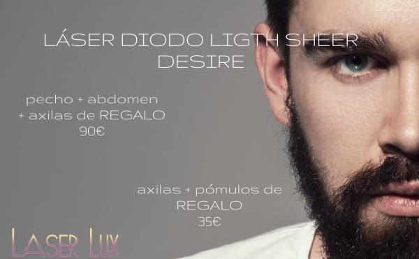 Al vello punto final!!! LASER DIODO LIGTH SHEER  en TodoEstetica.com