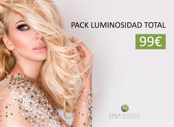 Pack Luminosidad Total 99€ en TodoEstetica.com