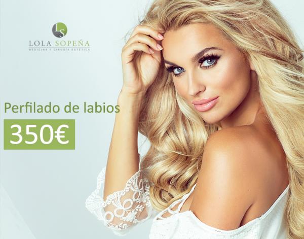 Perfilado de labios 350€ en TodoEstetica.com